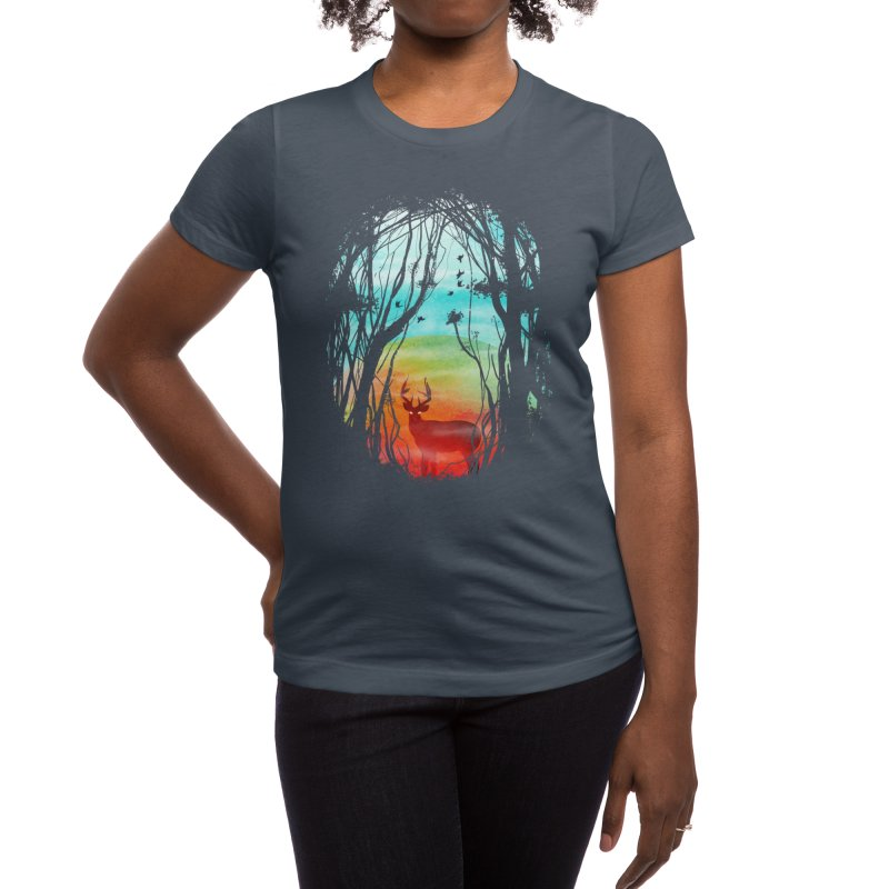 Lost in My Dreams Women's T-Shirt by Threadless Artist Shop