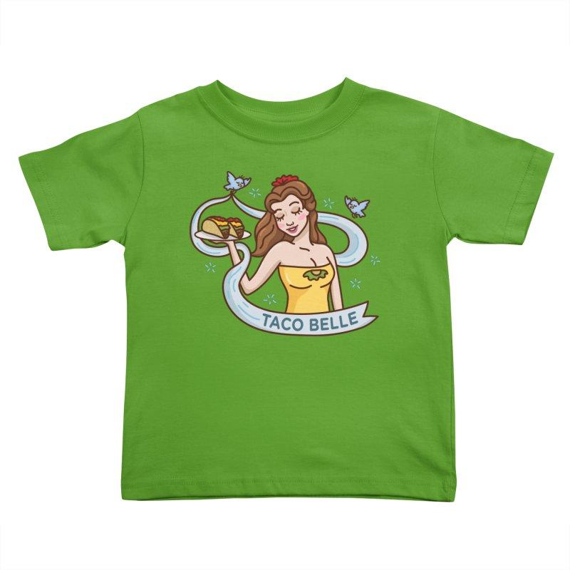 Taco Belle Kids Toddler T-Shirt by Threadless Artist Shop