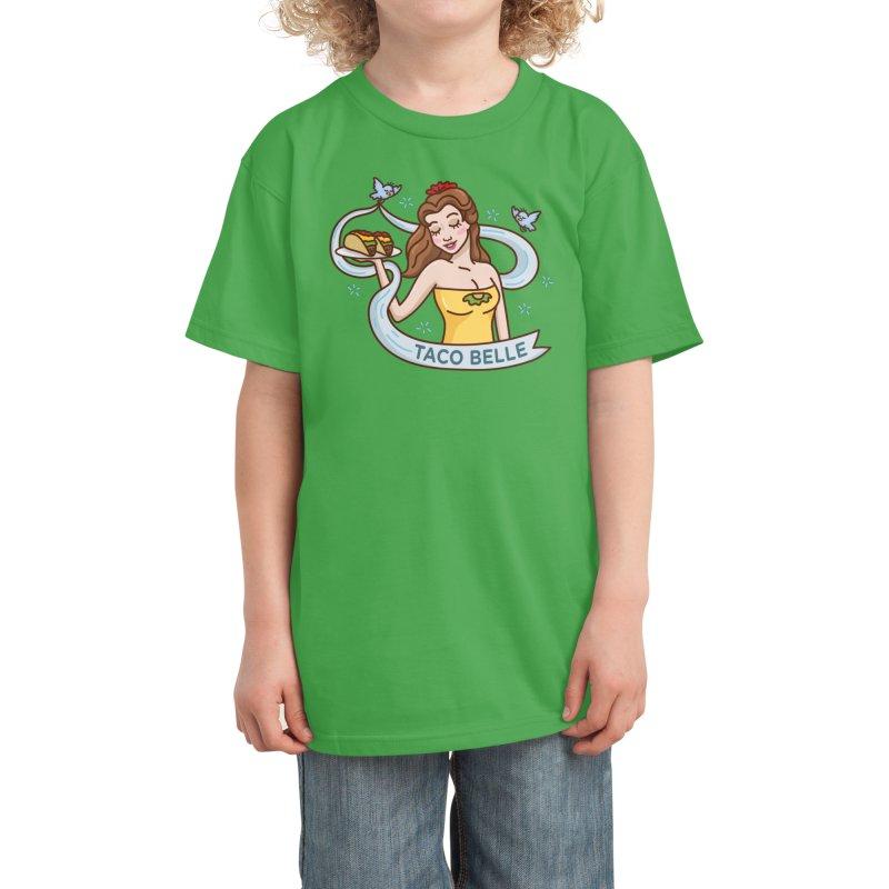 Taco Belle Kids T-Shirt by Threadless Artist Shop
