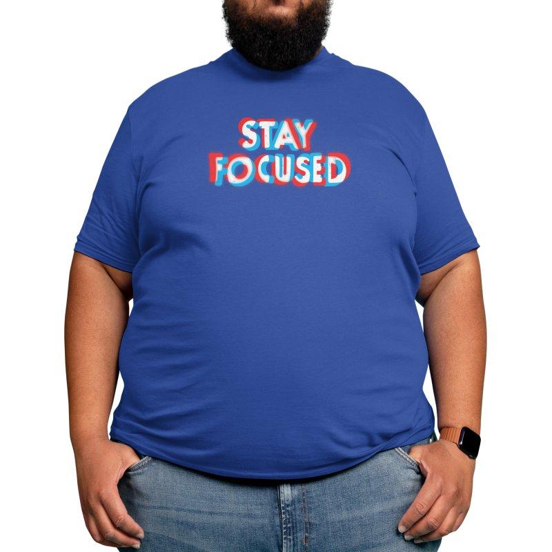Stay Focused Men's T-Shirt by Threadless Artist Shop