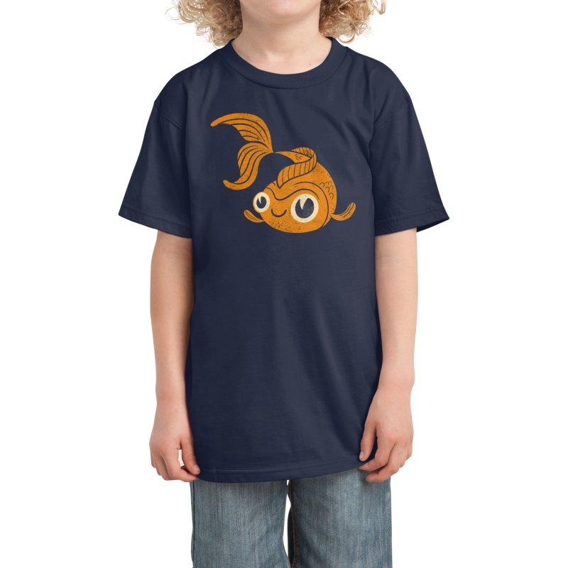 Goldfish Kids T-Shirt by Threadless Artist Shop