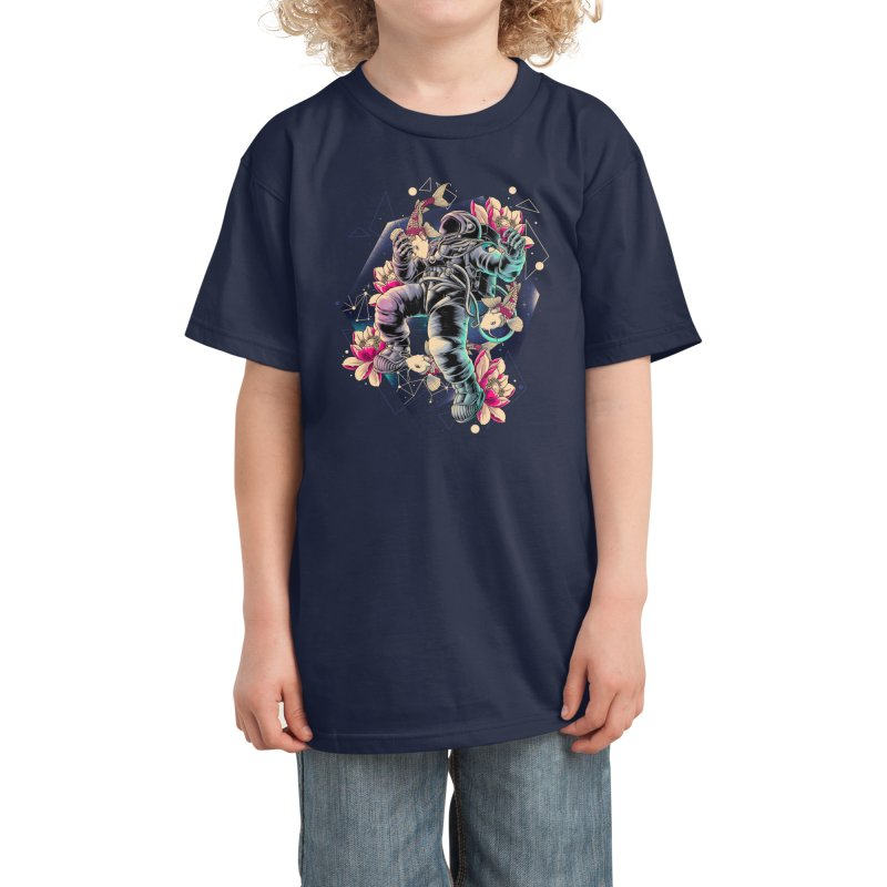 Deep Space Kids T-Shirt by Threadless Artist Shop