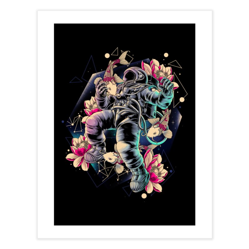 Deep Space Home Fine Art Print by Threadless Artist Shop