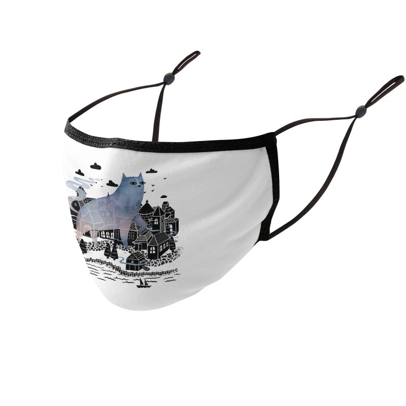 The Fog Accessories Face Mask by Threadless Artist Shop