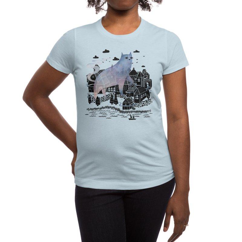 The Fog Women's T-Shirt by Threadless Artist Shop