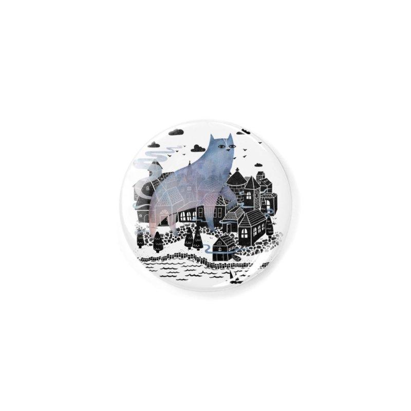 The Fog Accessories Button by Threadless Artist Shop