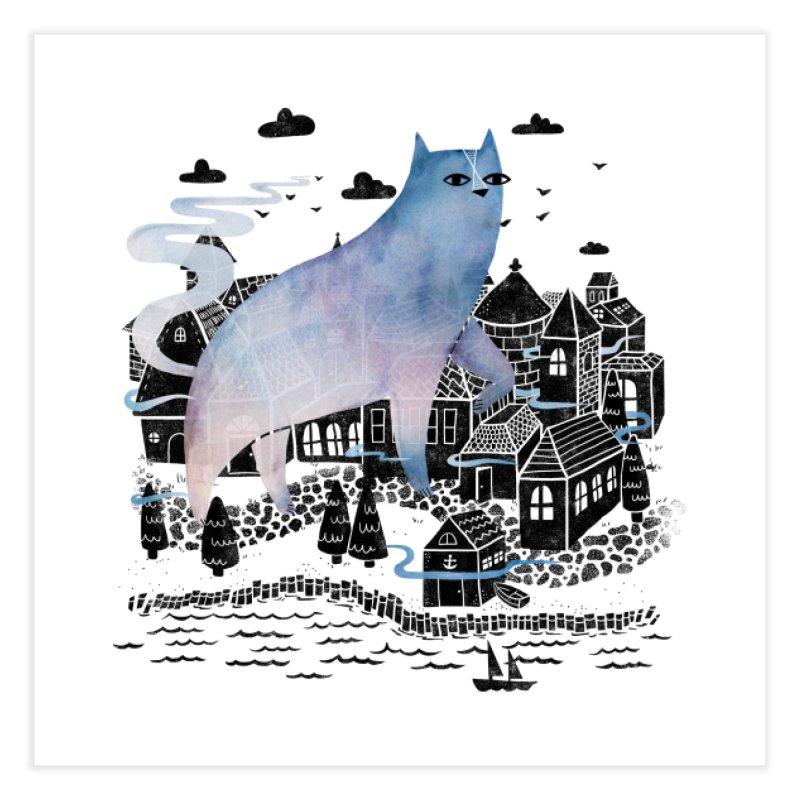 The Fog Home Fine Art Print by Threadless Artist Shop