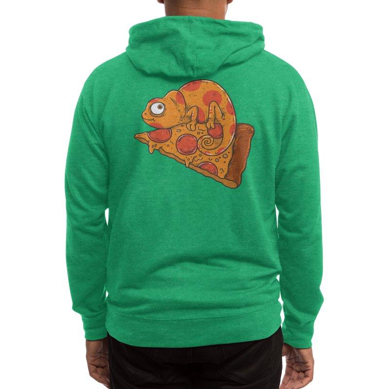 Pizza Chameleon Men's Zip-Up Hoody by Threadless Artist Shop