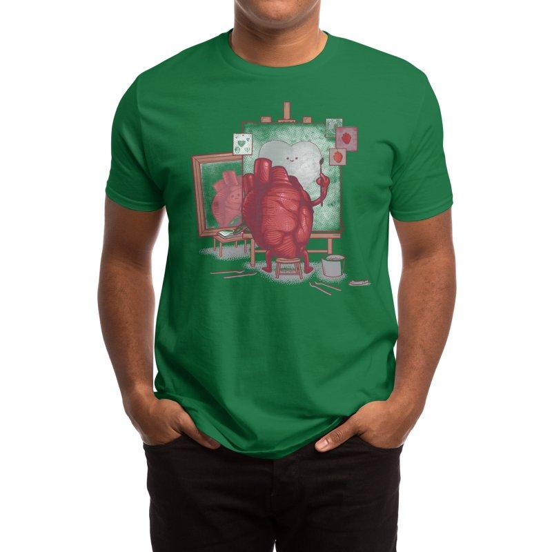 Self Portrait - Nacho Diaz Men's T-Shirt by Threadless Artist Shop
