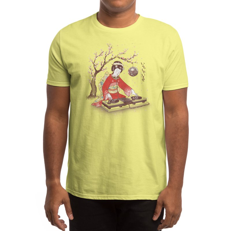 DJ Geisha Men's T-Shirt by Threadless Artist Shop
