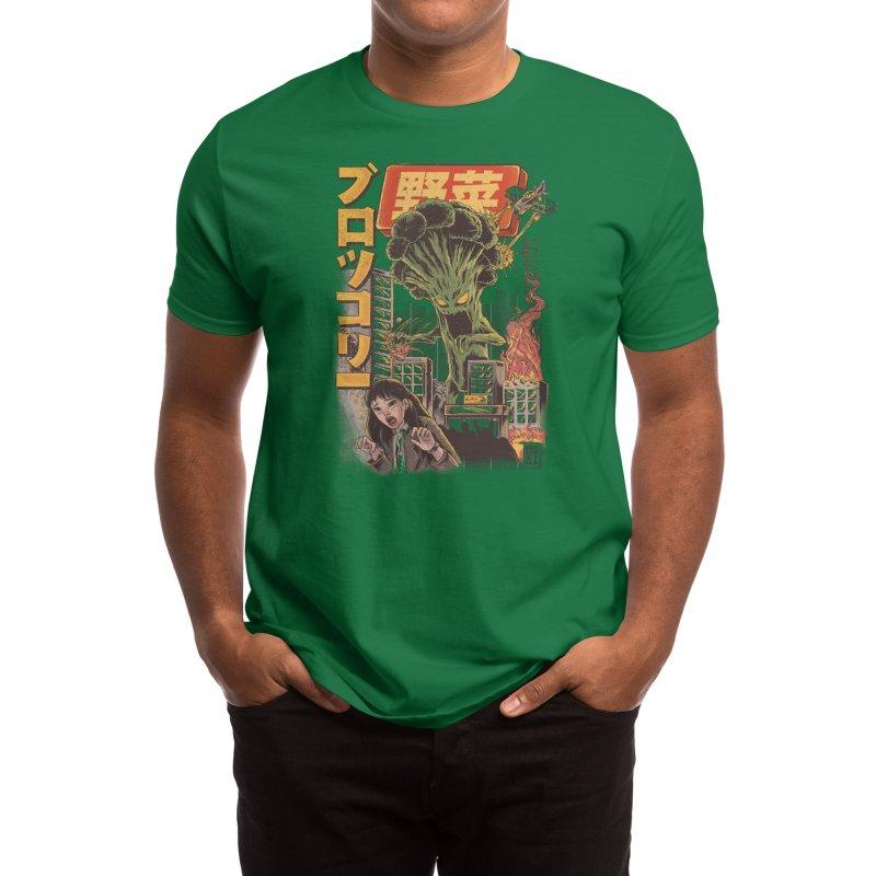 The Broccozilla Men's T-Shirt by Threadless Artist Shop