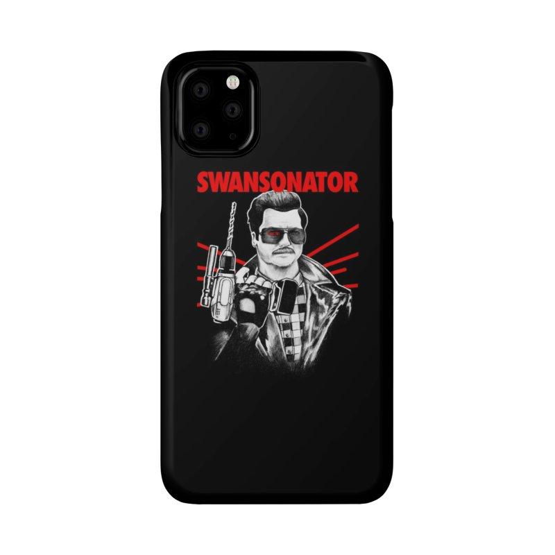 SWANSONATOR Accessories Phone Case by Threadless Artist Shop