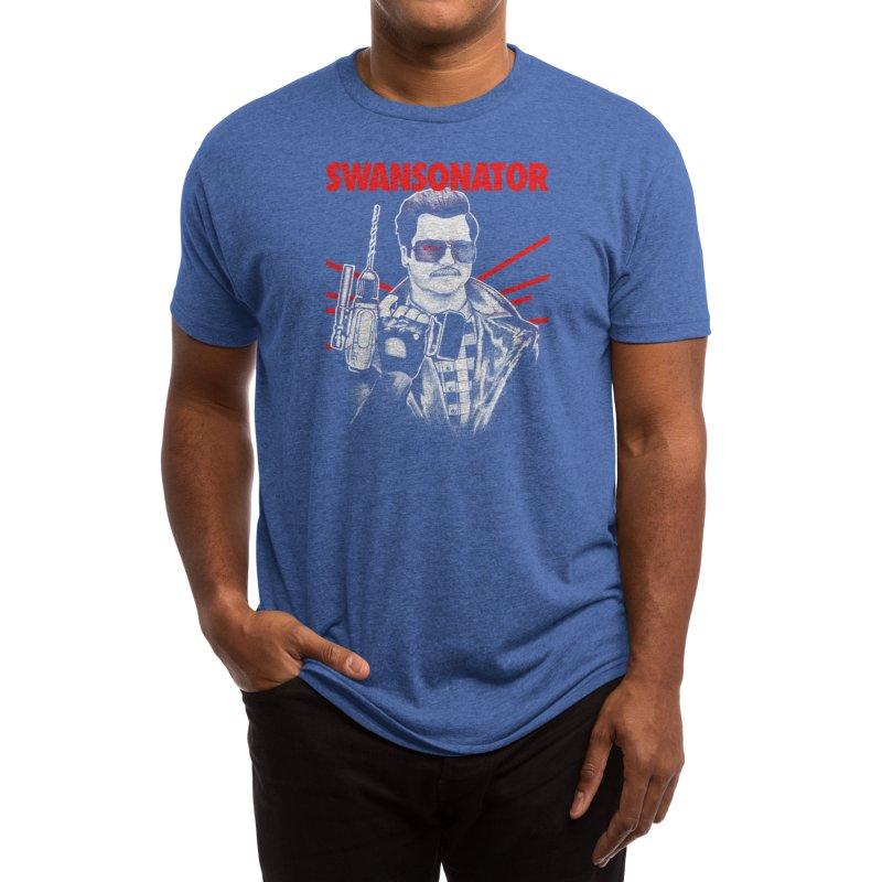 SWANSONATOR Men's T-Shirt by Threadless Artist Shop