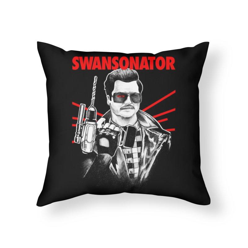 SWANSONATOR Home Throw Pillow by Threadless Artist Shop