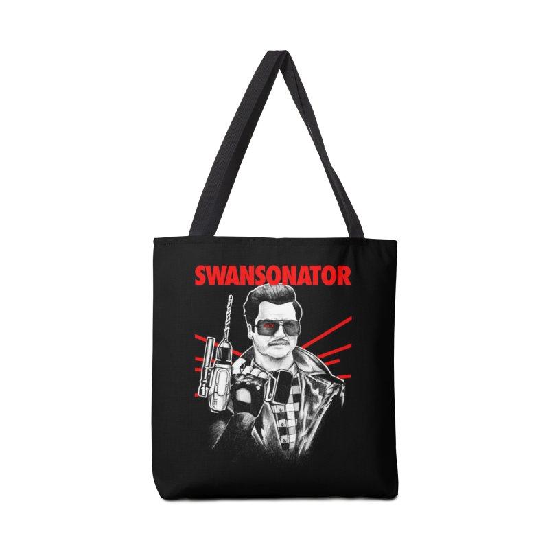 SWANSONATOR Accessories Bag by Threadless Artist Shop