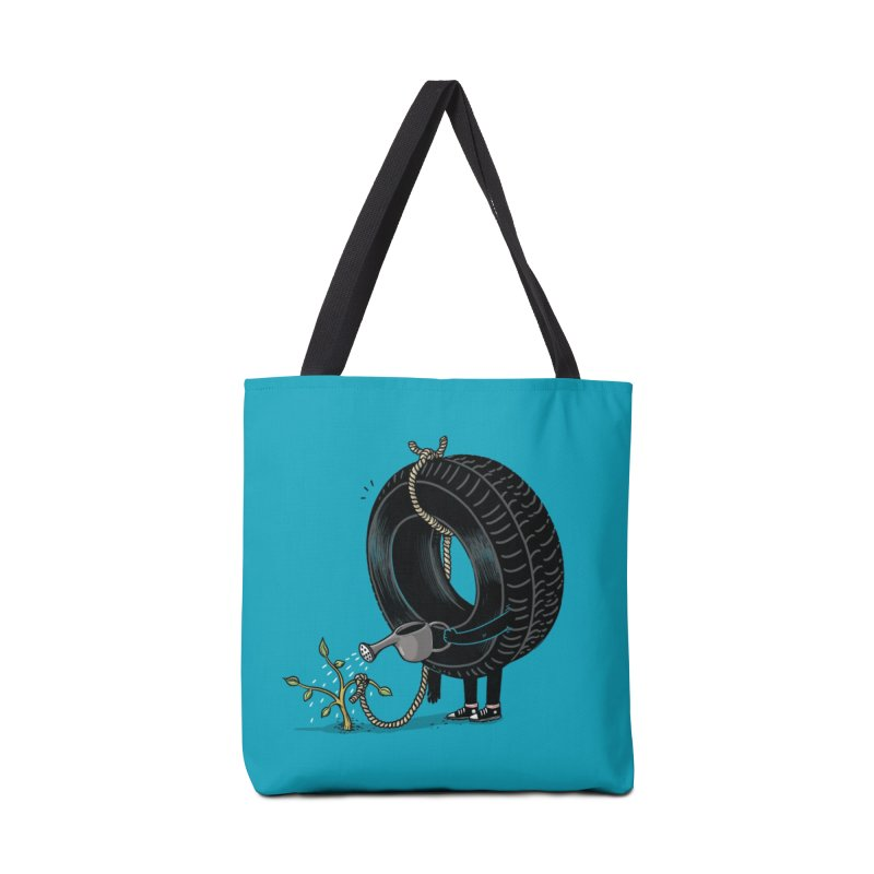 Good Things Come to Those Who Wait! Accessories Bag by Threadless Artist Shop