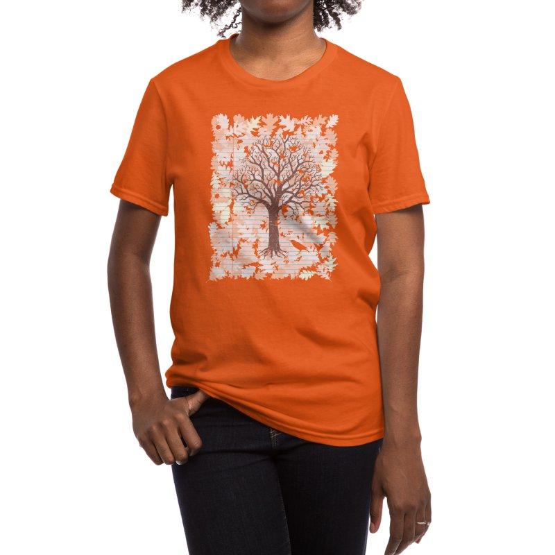 Loose Leaf Women's T-Shirt by Threadless Artist Shop