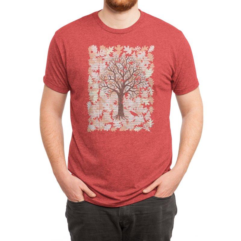 Loose Leaf Men's T-Shirt by Threadless Artist Shop
