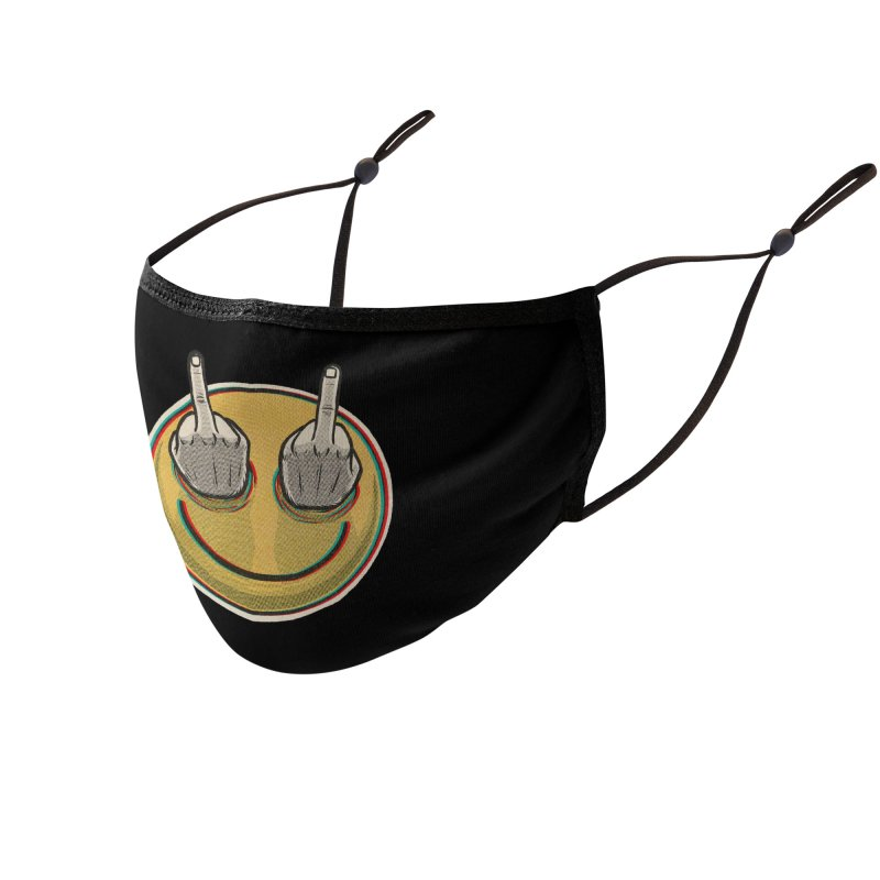Fuck Feelings Accessories Face Mask by Threadless Artist Shop