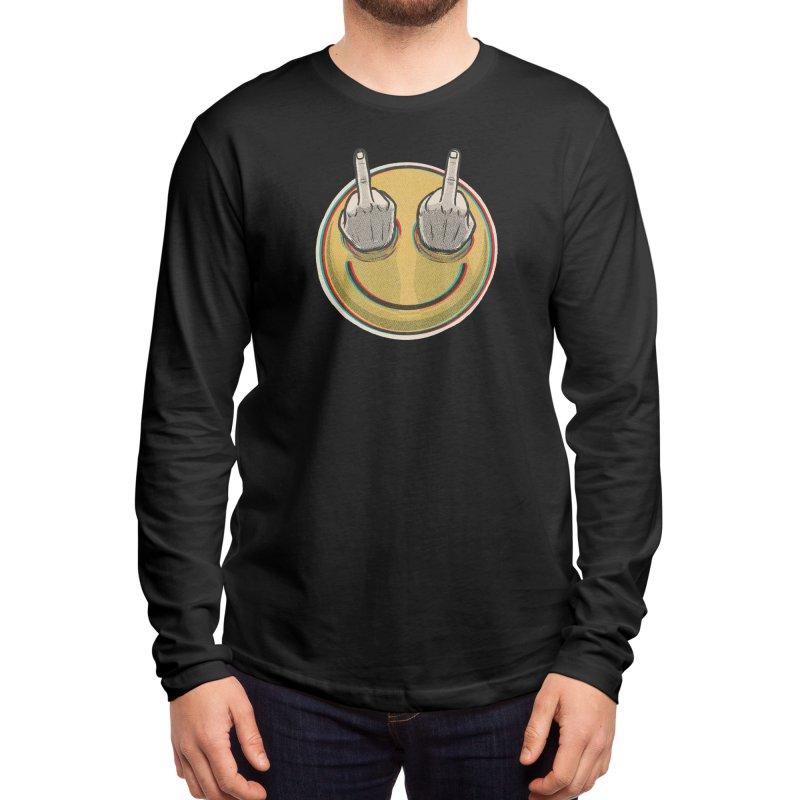 Fuck Feelings Men's Longsleeve T-Shirt by Threadless Artist Shop