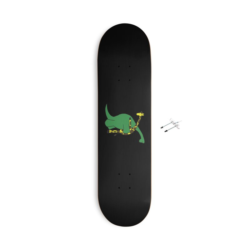 We're On the Same Level Accessories Skateboard by Threadless Artist Shop