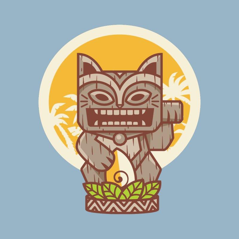 Kitty Tiki Men's T-Shirt by Threadless Artist Shop