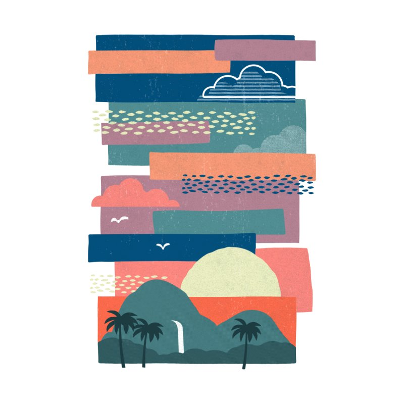 Tropical Skies Men's Tank by Threadless Artist Shop