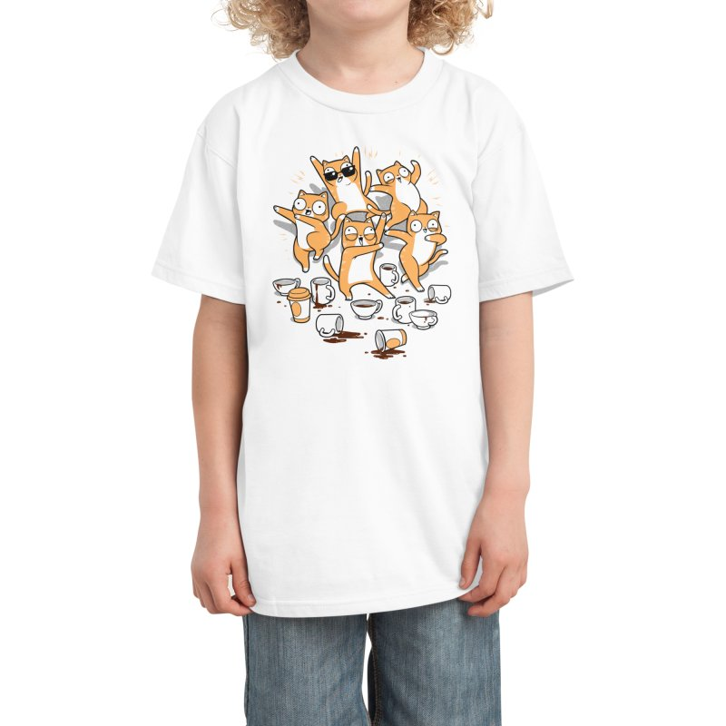 Party Party Party Kids T-Shirt by Threadless Artist Shop