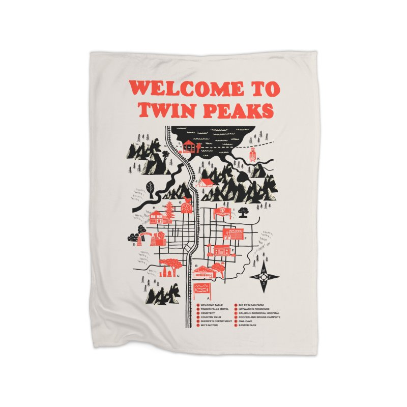Welcome to Twin Peaks Home Blanket by Threadless Artist Shop