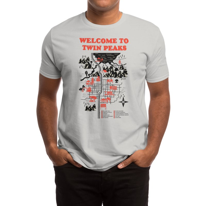 Welcome to Twin Peaks Men's T-Shirt by Threadless Artist Shop