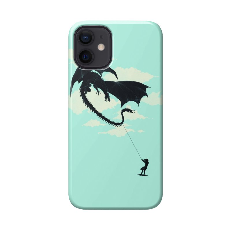 LITTLE GIRL PLAYING Accessories Phone Case by Threadless Artist Shop