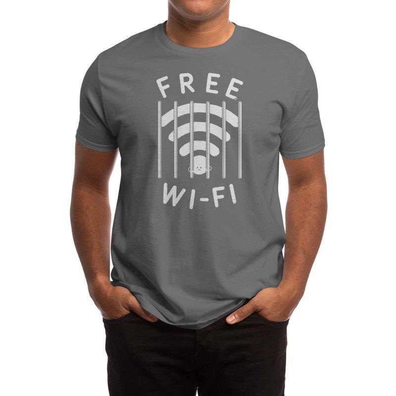 Free Wi-Fi Men's T-Shirt by Threadless Artist Shop