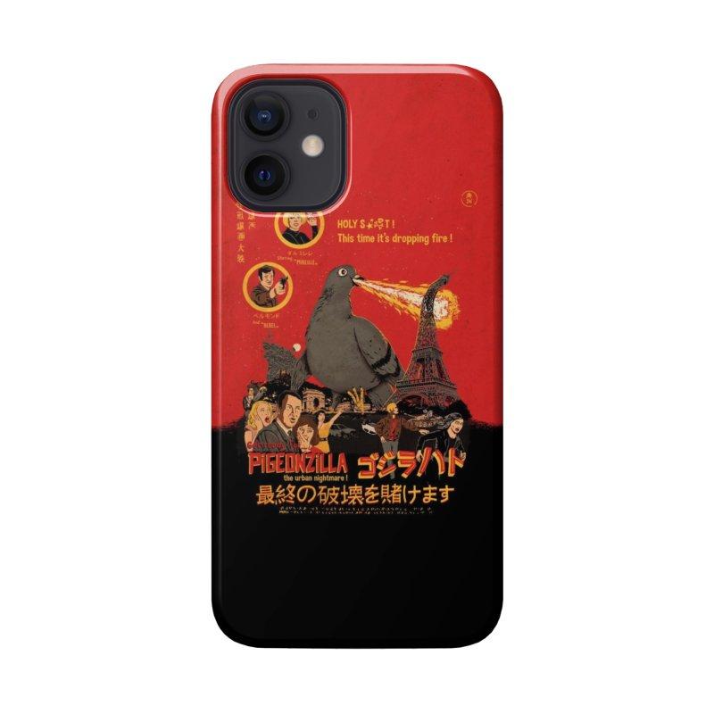 PIGEONZILLA omg! Accessories Phone Case by Threadless Artist Shop