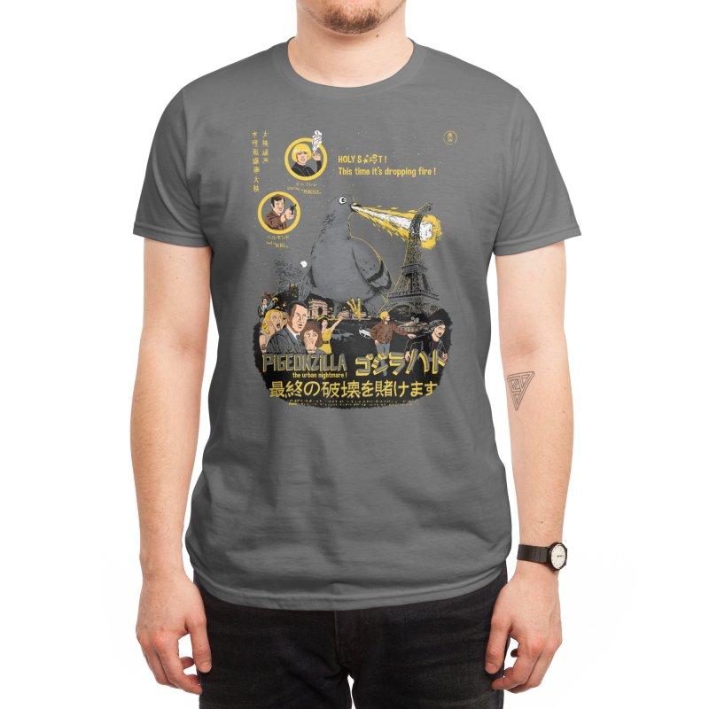 PIGEONZILLA omg! Men's T-Shirt by Threadless Artist Shop