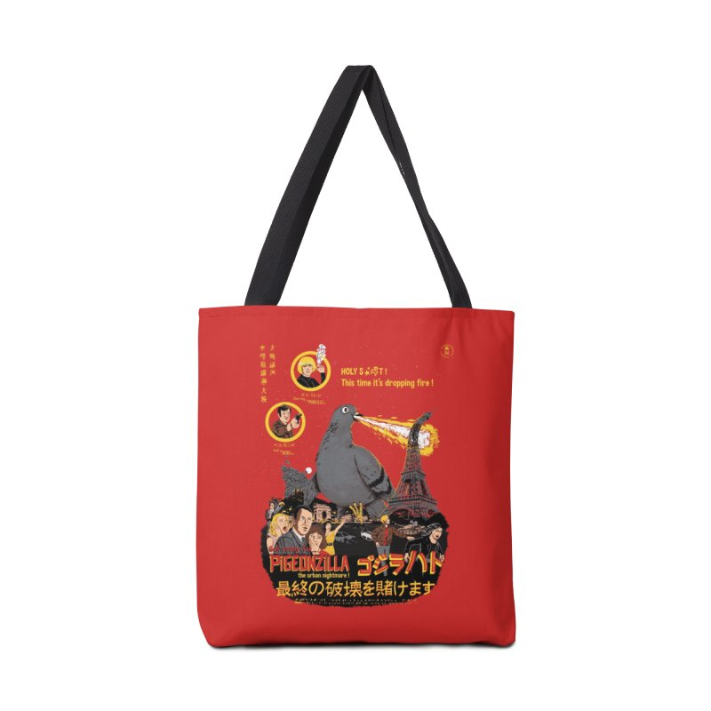 PIGEONZILLA omg! Accessories Bag by Threadless Artist Shop