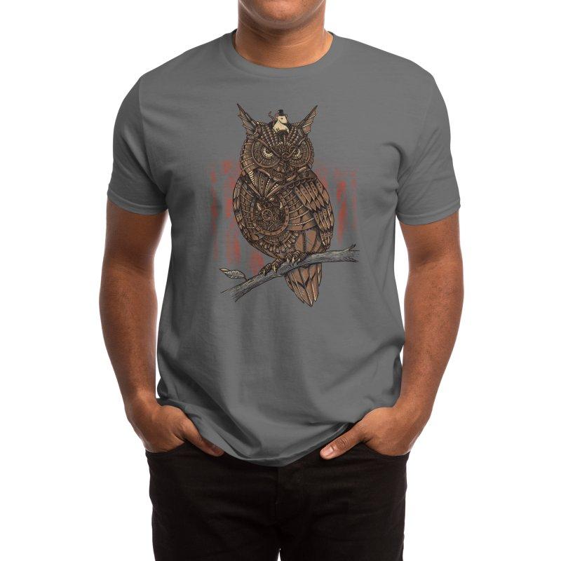 Mechanic-owl King Men's T-Shirt by Threadless Artist Shop