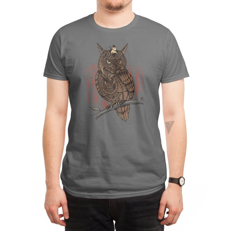 Mechanic-owl King Men's T-Shirt by Threadless Artist Shop