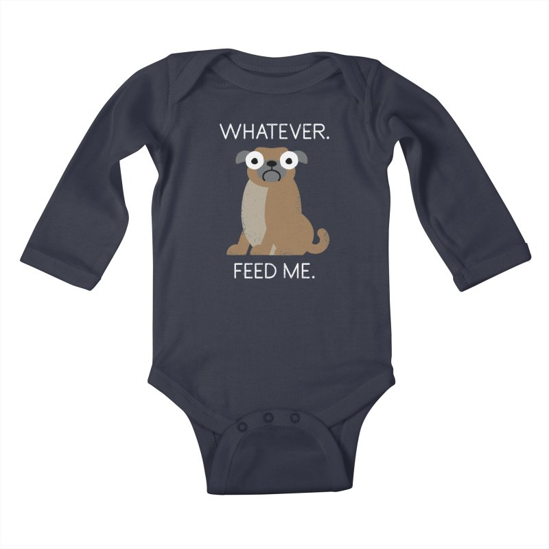 The Pugly Truth Kids Baby Longsleeve Bodysuit by Threadless Artist Shop