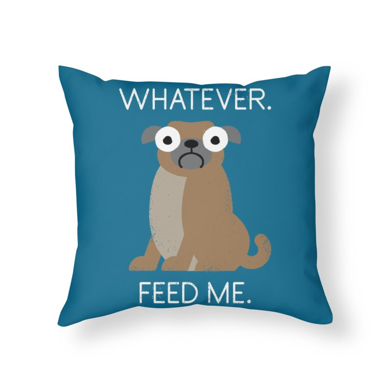 The Pugly Truth Home Throw Pillow by Threadless Artist Shop