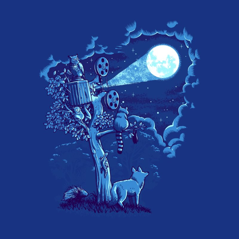 Night Sky Projector Men's T-Shirt by Threadless Artist Shop