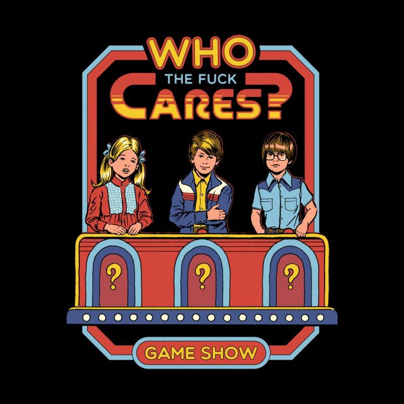 Who Cares? Men's T-Shirt by Threadless Artist Shop