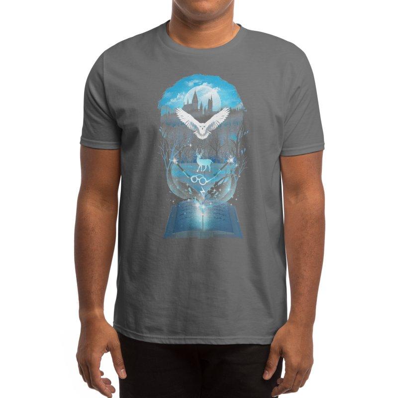 Book of Fantasy Men's T-Shirt by Threadless Artist Shop
