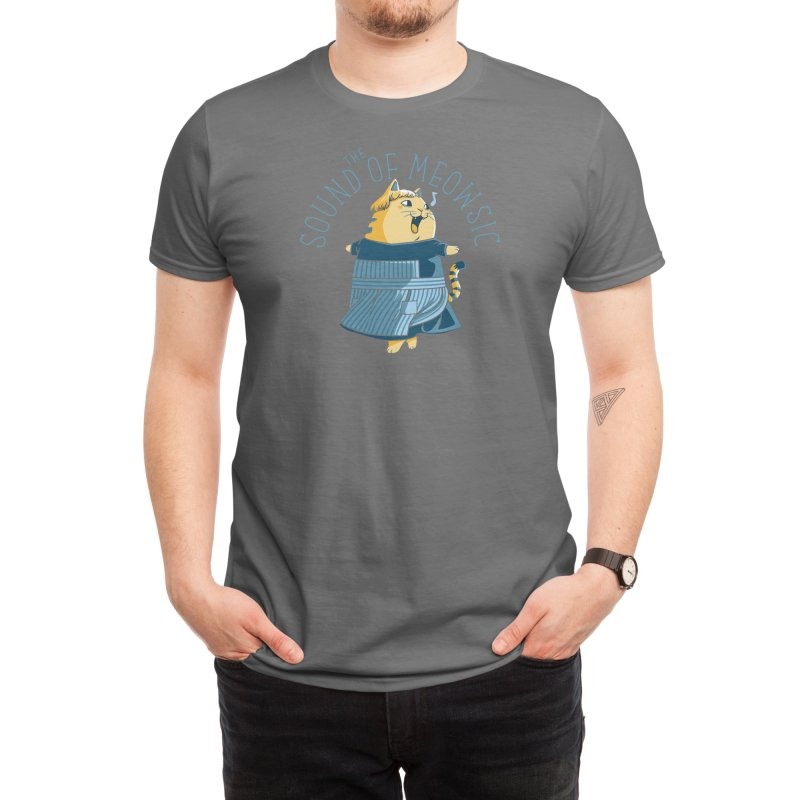 The Sound of Meowsic Men's T-Shirt by Threadless Artist Shop