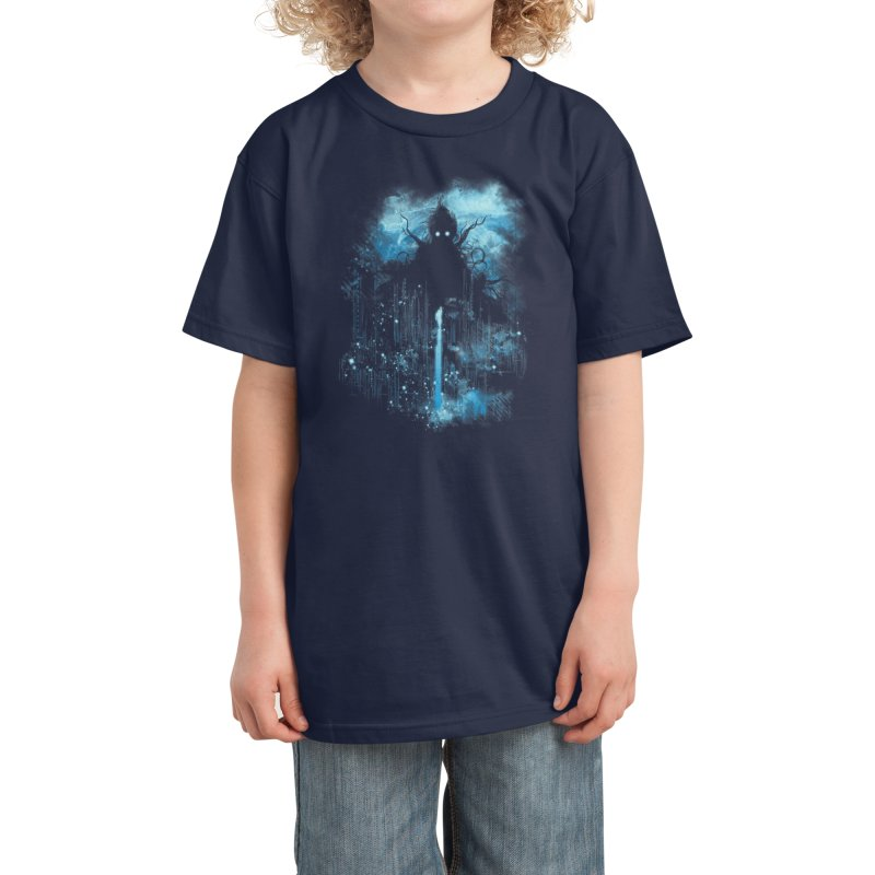 Cthulu Class 5 vs Little Hero Kids T-Shirt by Threadless Artist Shop