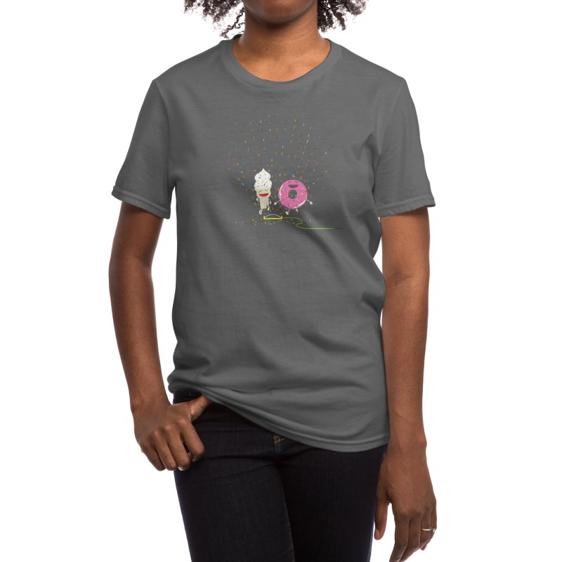 Playin' In The Sprinkler Women's T-Shirt by Threadless Artist Shop