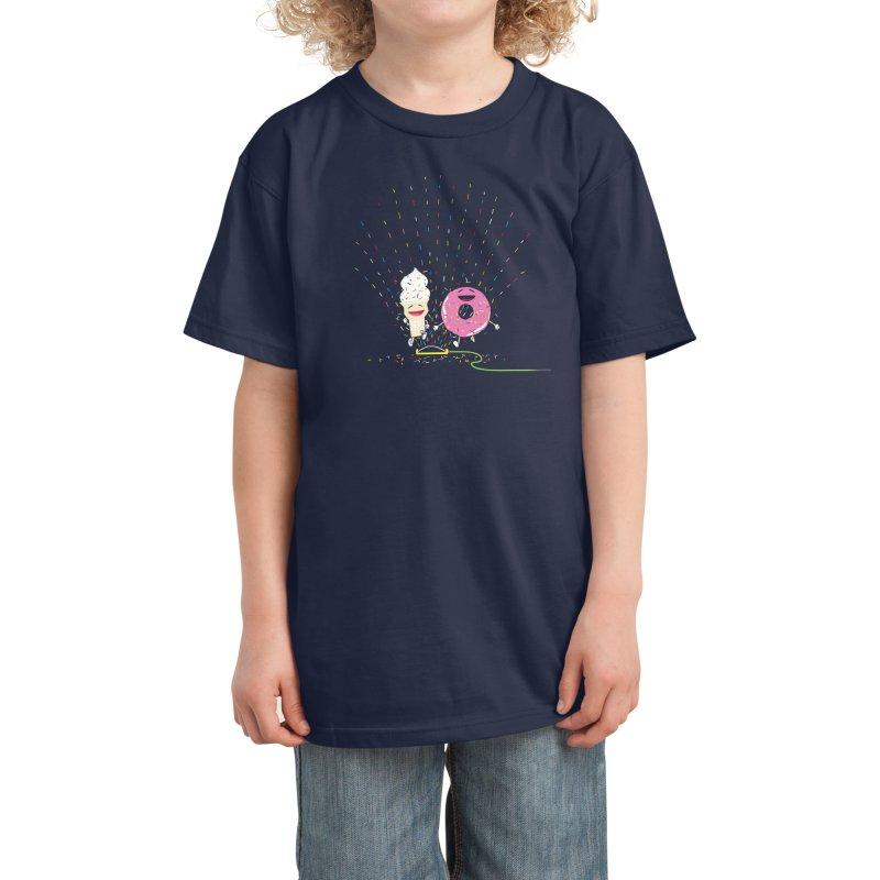 Playin' In The Sprinkler Kids T-Shirt by Threadless Artist Shop