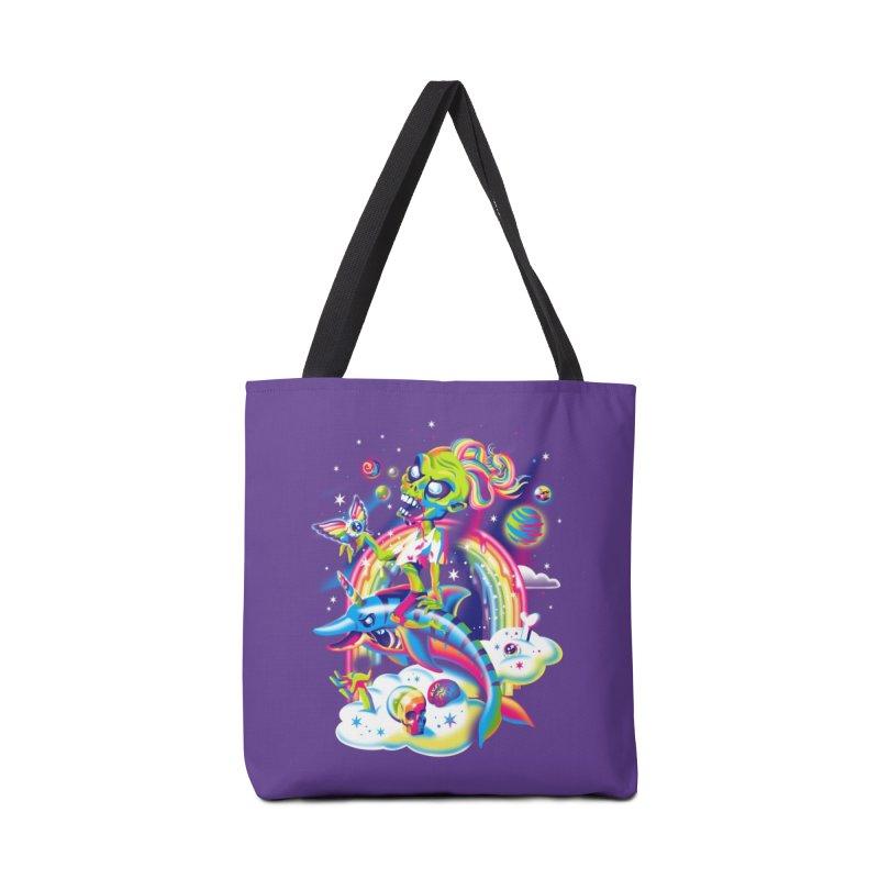 Rainbow Apocalypse Accessories Bag by Threadless Artist Shop