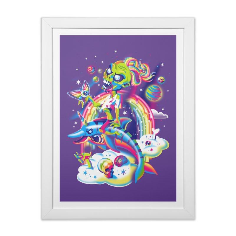Rainbow Apocalypse Home Framed Fine Art Print by Threadless Artist Shop