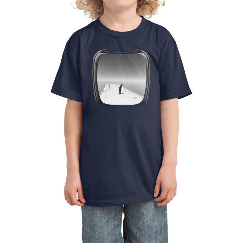 Window Seat - Ross Zietz Kids T-Shirt by Threadless Artist Shop