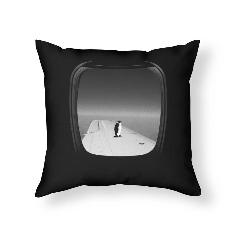 Window Seat - Ross Zietz Home Throw Pillow by Threadless Artist Shop